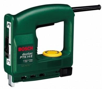Bosch PTK 14 EDT Такер електрически за кламери 11.4 мм и гвоздеи 14 мм 0 603 265 520