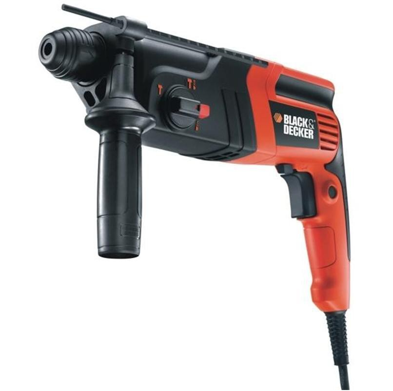 Black&Decker KD855KA, Перфоратор със SDS plus 550 W, 0 - 960 оборота, 0-5100 удара, 1.6 J, KD855KA-XK