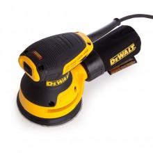 Шлайф ексцентриков DeWALT DWE6423, 280 W, вибрации 8000-12000 об/мин., ф 125 мм