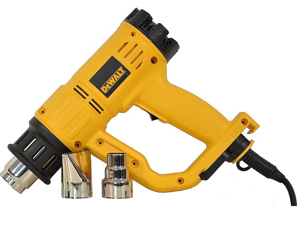 Пистолет за топъл въздух DeWALT D26414, 2000 W, 50°/50°-600°C, 250/500 л/мин.