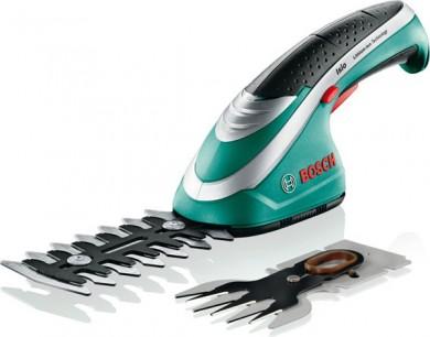 Bosch Isio Ножица акумулаторна за трева и храсти   3.6 V 1.30 Ah 80/120 мм 0 600 833 102