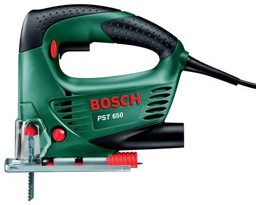 BOSCH PST 650 Трион прободен - Зеге 500 W, 20 мм, 0-3100 оборота, 65 мм в дърво