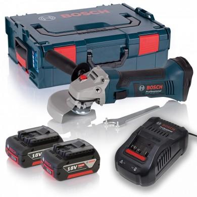 Bosch GWS 18-125 V-LI Professional Ъглошлайф акумулаторен Li-Ion 18.0 V 5.0 Ah 10000 оборота ф 125 мм 0 601 93A 30L