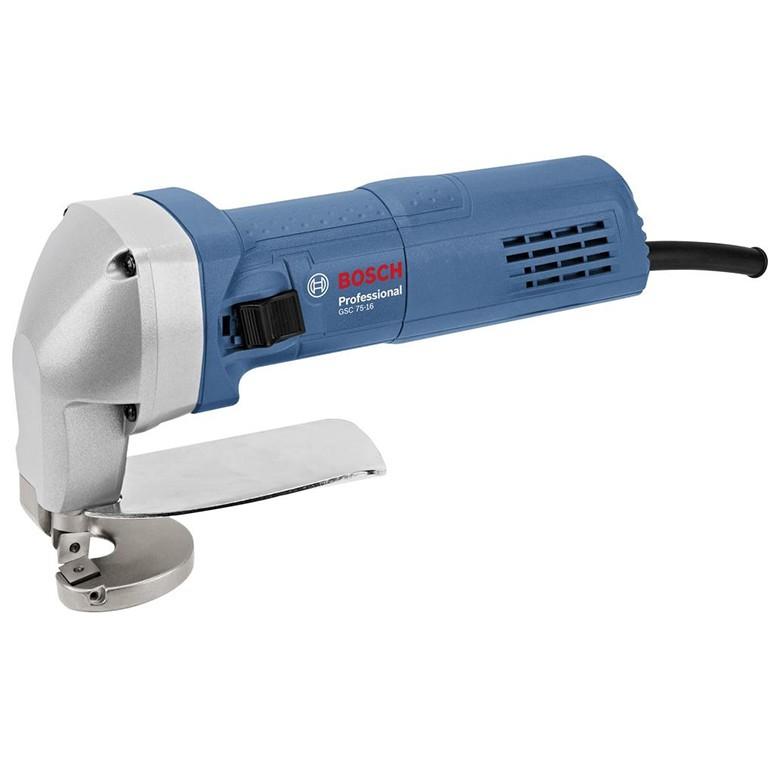 BOSCH GSC 75-16 Ножица за ламарина 750 W, 5200 оборота, 1.6 мм в мека стомана GSC 75-16 PROFESSIONAL