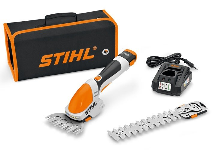 Stihl HSA 25, Ножица акумулаторна за трева и храсти 10.8 V, 2.0 Ah, 115/170 мм, 45150113510