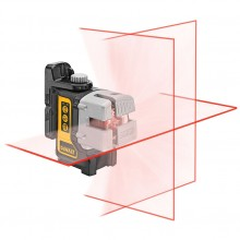 Нивелир лазерен линеен DeWALT DW089K, 15.0 м, 0.3 мм/1 м