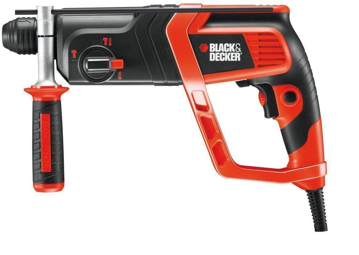 Black&Decker KD985KA, Перфоратор със SDS plus 800 W, 0 - 980 оборота, 0-5180 удара, 2.2 J, KD985KA-XK