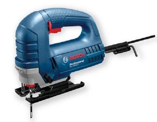 BOSCH GST 8000 E Трион прободен - Зеге 710 W, 20 мм, 500-3100 оборота, 80 мм в дърво GST 8000 E PROFESSIONAL