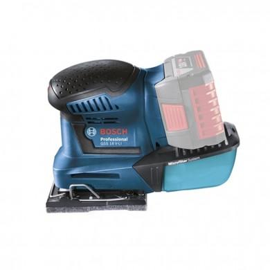 Виброшлайф акумулаторен 18.0V Bosch