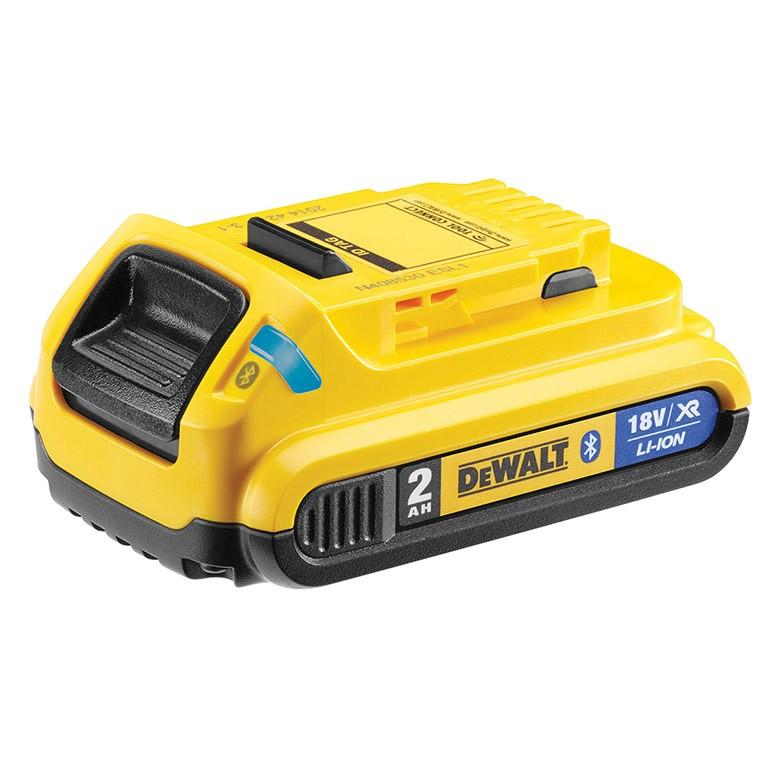 DEWALT DCB183B Батерия акумулаторна Li-Ion с Bluetooth 18.0 V, 2.0 Ah DCB183B XR