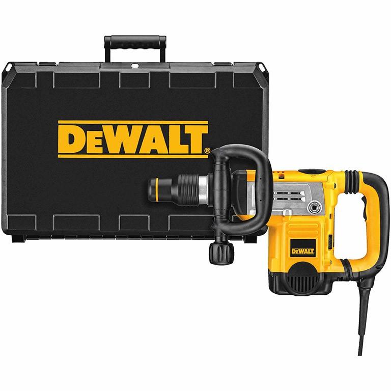 DEWALT D25831K Къртач със захват SDS max 1250 W, 1430-2840 удара, 8 J D25831K