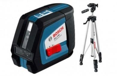 Нивелир лазерен линеен 10.0 m Bosch