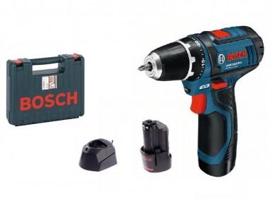 Винтоверт акумулаторен Li-Ion 10.8 V Bosch