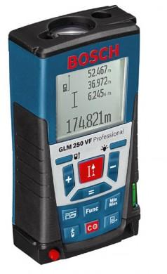 Bosch GLM 250 VF Professional Ролетка лазерна противоударна GLM 250 VF 0.05-250.00 м +/-1.0 мм 0 601 072 100