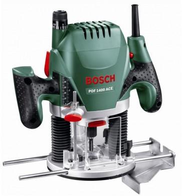 Bosch POF 1400 ACE Оберфреза 1400 W 11000-28000 оборота минута ф 6-8 мм 0 603 26C 820