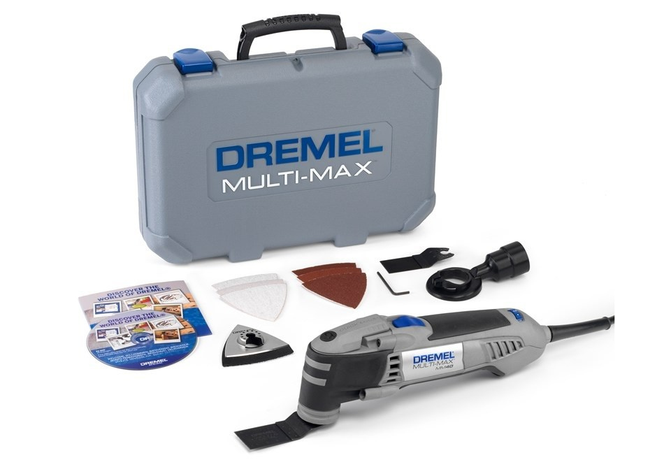 DREMEL Multi-Max MM40 Инструмент мултифункционален 270 W, вибрации 10000-21000/минута Multi-Max MM40