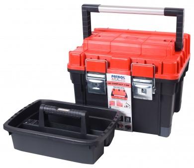 Куфар за инструменти модел HD Compact 1 червен