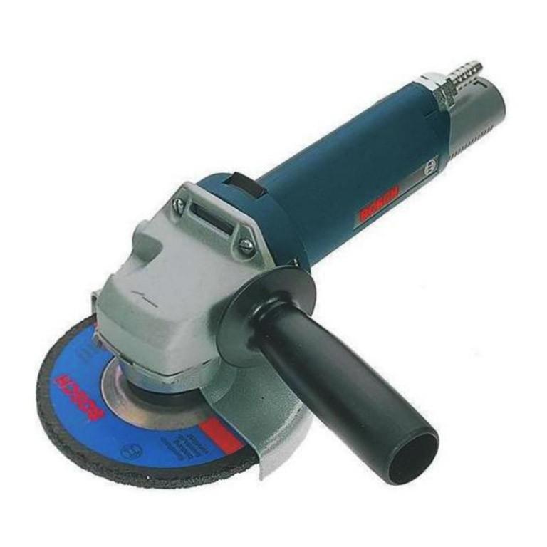 BOSCH Pneumatic angle grinder Ъглошлайф пневматичен 12000 оборота минута, ф 125 мм, M14 Pneumatic angle grinder