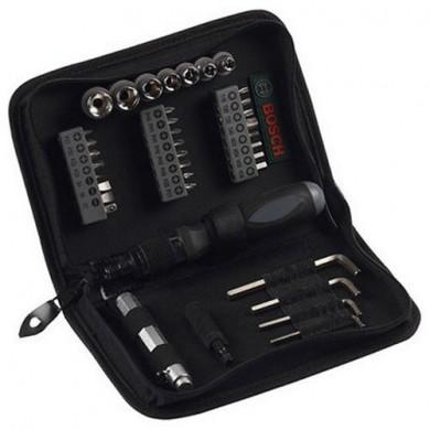 Комплект монтажен накрайници и държач за отверка 38 части